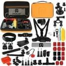 53 in 1 GoPro accessoire kit geschikt voor GoPro HERO 4 Session 6 / 5 / 4 / 3 + / 3 / 2 / 1 / SJ4000 / SJ5000 / Dazzne / SOOCOO