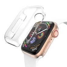 Volledige dekking PC Case voor Apple Watch serie 4 44mm(Transparent)