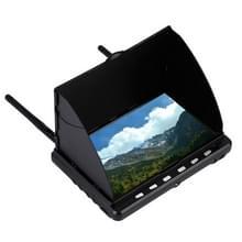5,8 GHz 40 kanaal luchtfoto hoge Definition LCD scherm FPV-Monitor, geen DVR functie(zwart)
