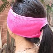 Wintersport Outdoor oorkappen Warm en ademend alpinisme beschermende OORWARMER Plus Velvet oorkappen sneeuw rijden Equipment(Pink)