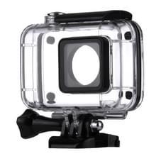 Waterdicht huisvesting beschermings hoesje ontmoette Buckle Basic Mount voor Xiaomi Xiaoyi II Sport Camera