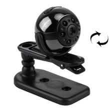 360 graden roterende Full HD 1080P Mini DV digitale Video PC camera Sport Actiecamera camcorder met houder & clip, ondersteunt TF Card & TV uitgang (zwart)