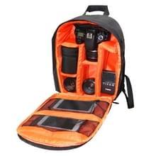 INDEPMAN DL-B012 Outdoor Buitensport Backpack Rugtas Camera Tas voor GoPro, SJCAM, Nikon, Canon, Xiaomi Xiaoyi YI, Afmetingen: 27.5 x 12.5 x 34 cm (Oranje)