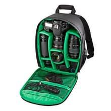 INDEPMAN DL-B012 Outdoor Buitensport Backpack Rugtas Camera Tas voor GoPro, SJCAM, Nikon, Canon, Xiaomi Xiaoyi YI, Afmetingen: 27.5 x 12.5 x 34 cm (groen)