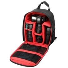 INDEPMAN DL-B012 Outdoor Buitensport Backpack Rugtas Camera Tas voor GoPro, SJCAM, Nikon, Canon, Xiaomi Xiaoyi YI, Afmetingen: 27.5 x 12.5 x 34 cm (rood)