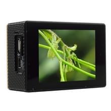 SOOCOO C30 2.0 inch scherm 4K 170 graden beeldhoek WiFi Sport Actiecamera camcorder met waterdichte behuizing, ondersteunt 128GB Micro SD kaart, rood licht duik compensatie, Voice Prompt, Gyroscoop Anti-shake, HDMI uitgang(zwart)