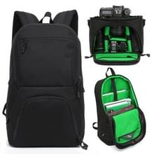 HUWANG 2 in 1 Waterproof Anti-theft Outdoor Dual Shoulders Backpack + Shockproof Camera Case Bag(Green)