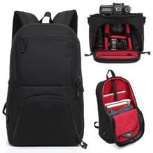HUWANG 2 in 1 Waterproof Anti-theft Outdoor Dual Shoulders Backpack + Shockproof Camera Case Bag(Red)
