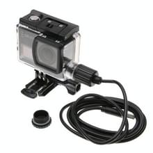 SJCAM SJ6 LEGEND Waterproof Housing Protective Case with Car Charger Cable & Buckle Basic Mount & Screw