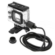 SJCAM SJ7 LEGEND Touch Screen Waterproof Housing Protective Case with Car Charger Cable & Buckle Basic Mount & Screw