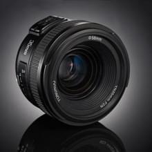 YONGNUO YN35MM F2N 1:2 AF/MF groothoek vast/Prime autofocus Lens voor Nikon DSLR-Cameras(Black)