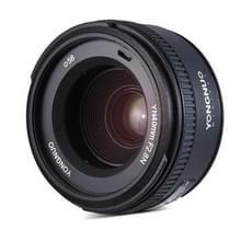 YONGNUO YN40MM F2.8N licht-gewicht 1:2.8 standaard vaste uitstekende Lens AF/MF focuslens voor Nikon DSLR camera's (zwart)