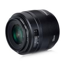 YONGNUO YN50MM F1.4C F1.4 Lens groot diafragma Auto focuslens voor Canon (zwart)