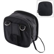 9PCS nylon filter bag met riem  maat: 14 × 12 × 6cm (zwart)