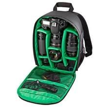 DL-B027 Waterbestendige Buitensport Backpack Rugtas DSLR Camera Tas voor GoPro, SJCAM, Nikon, Canon, Xiaomi Xiaoyi YI, Afmetingen: 27.5 x 12.5 x 34 cm (groen)