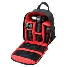 DL-B027 Waterbestendige Buitensport Backpack Rugtas DSLR Camera Tas voor GoPro, SJCAM, Nikon, Canon, Xiaomi Xiaoyi YI, Afmetingen: 27.5 x 12.5 x 34 cm (rood)