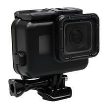 2 in 1 GoPro HERO5 Actie Camera Touch Screen Back Cover + 45 meter Waterdichte beschermende Behuizing met gesp basisbevestiging & schroeven (zwart)