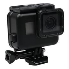 2 in 1 GoPro HERO5/6 Touch Screen Back Cover + 45 meter Waterdichte beschermende Behuizing met gesp basisbevestiging & schroeven (zwart)