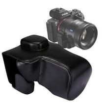 Full Body Camera PU lederen Case tas met riem voor Sony A7 II / A7R II / A7S II(Black)