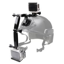 Helmet Front Mount Bundle Set for GoPro HERO6 /5 /5 Session / Xiaoyi and Other Action Cameras