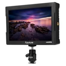 Aputure VS-5 7 inch FineHD Scherm 160 Graden Kijkhoek Video Recorder SDI Monitor met Zonnekap, ondersteunt HDMI / HD-SDI Input