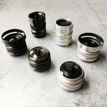 6 stuks niet-werkende Fake Dummy DSLR cameralens Model Foto Studio Props