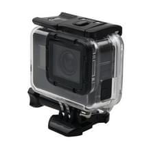Voor GoPro HERO6 /5 skelet huisvesting beschermings hoesje + holle backcover ontmoette Buckle Basic Mount & schroeven