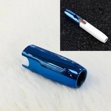 Universele effen kleur Electroplate mondstuk Cap voor IQOS 2.4 Plus (donkerblauw)