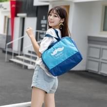 Buiten multifunctionele waterdichte groot strand tas Travel Bag toilettas (donkerblauw)