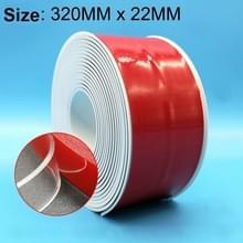 PVC keuken en badkamer waterdicht en schimmel bewijs tape  grootte: 22 mm x 3.2m(White)