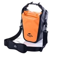 Naturehike volledig waterdichte Camera Bag droog tas Outdoor sporten Sling schoudertas voor DSLR camera's, formaat: 40 x 14 cm x 12cm(Orange)