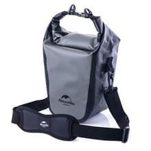 Naturehike volledig waterdichte Camera Bag droog tas Outdoor sporten Sling schoudertas voor DSLR camera's, formaat: 40 x 14 cm x 12cm(Grey)