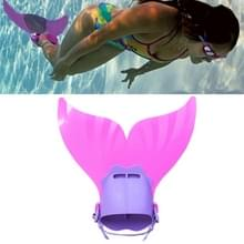Zeemeermin zwemmen Fin verstelbare duiken monovin voet Flipper zwemmen voor kinderen (roze)
