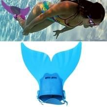 Zeemeermin zwemmen Fin verstelbare duiken monovin voet Flipper zwemmen voor kinderen (blauw)