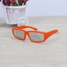 ABS Frame eclipsbrilletje oog bescherming veilig zonne-Viewer (oranje)