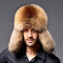 Winter nieuwe stijl Fox haar LeiFeng mannen hoeden  dikke warme midden en oude mensen oor bescherming Winter bont Hat(Khaki)