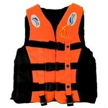 Drifting zwemmen vissen reddingsvesten met fluit voor kinderen  Size:S(Orange)