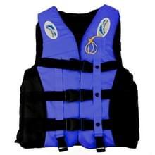 Drifting zwemmen vissen reddingsvesten met fluit voor kinderen  Size:S(Blue)