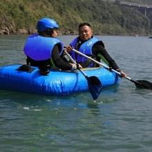 Drifting zwemmen vissen reddingsvesten met fluitje voor Adults Size:XXL(Blue)