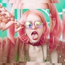 EDM Concert partij Pub Caleidoscoop Effect Dual Side Pebble volwassen Glasses(Pink)