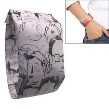 Volkeren patroon creatieve Fashion waterdichte papier Watch intelligente papier elektronische polshorloge
