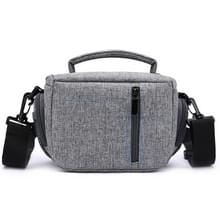 HUWANG Portable Waterproof Nylon Surface Material Outdoor Sports Sling Shoulder Bag for DSLR Cameras  Size: 20cm x 15cm x 12cm(Grey)