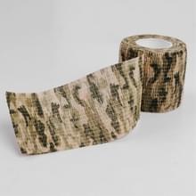 Buiten zelf klevende niet geweven Camouflage Wrap geweer jacht schieten fietsen Tape waterdicht Camo Stealth Tape  lengte: 4 5 m