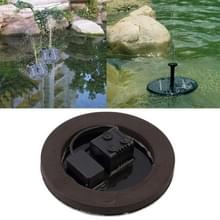 Zonne-aangedreven watertuin pomp fontein zwevend deelvenster drenken vijver Kit voor watervallen Display waterpark zwembad decoratie fontein  Diameter: 16cm