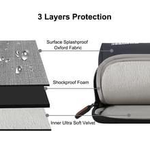 HAWEEL 13.0 inch mouw geval rits werkmap uitvoering laptoptas  voor Macbook  Samsung  Lenovo  Sony  DELL Alienware  CHUWI  ASUS  HP  13 inch en onder Laptops(Black)