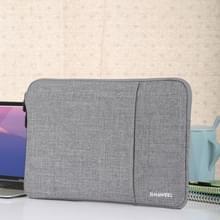 HAWEEL 13.0 inch mouw geval rits werkmap uitvoering laptoptas  voor Macbook  Samsung  Lenovo  Sony  DELL Alienware  CHUWI  ASUS  HP  13 inch en onder Laptops(Grey)