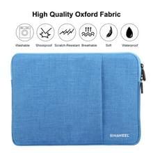 HAWEEL 13.0 inch mouw geval rits werkmap uitvoering laptoptas  voor Macbook  Samsung  Lenovo  Sony  DELL Alienware  CHUWI  ASUS  HP  13 inch en onder Laptops(Blue)