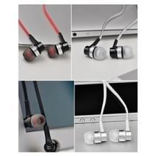 REMAX RM-535i In-Ear Stereo hoofdtelefoon met draad Control + MIC  ondersteuning voor Hands-free  voor iPhone  Galaxy  Sony  HTC  Huawei  Xiaomi  Lenovo en andere Smartphones (rood + zwart)