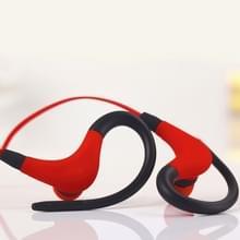 BT-1 draadloze Bluetooth In-ear hoofdtelefoon Sports Headset met microfoons  voor Smartphone  ingebouwde Bluetooth draadloze transmissie  transmissie afstand: binnen 10m(Red)