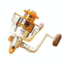 YUMOSHI EF6000 12 kogellagers Rocker handvat wiel zetel Hengelsport spinnen haspel